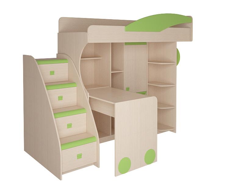 Купить Детский уголок со спальным местом и столом (5-14 лет)